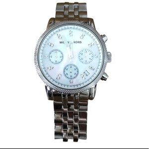 Michael Kors Mother of Pearl Stainless Watch